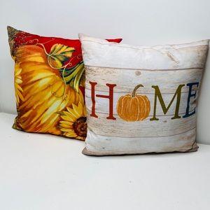Fall Accent Pillows